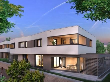 »WestTwins« DHH | 150 m² Wohnfläche auf 2 Ebenen | KfW55 | 469 qm Grundstück | Riedberg-Westflügel