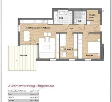 +++Beneidenswerte Terrassenwohnung mit Gartenanteil!+++