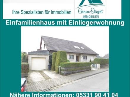 *** Einfamilienhaus im Westen von Braunschweig mit Einliegerwohnung