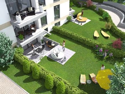 Schlossgarten - Süd-Westgarten - 5 Zimmer - 2 Bäder - Luxuswohnung