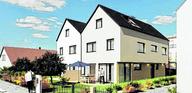 DHH ca. 190 m² 316 m² Neubau von 2 exclusiven Doppelhaushälften in Stadtbergen/Leitershofen....