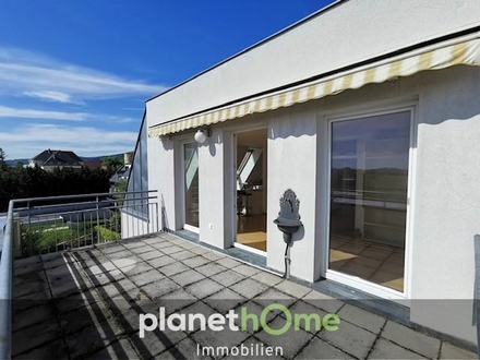 Terrassentraum mit Eigentumsgarage in Toplage!