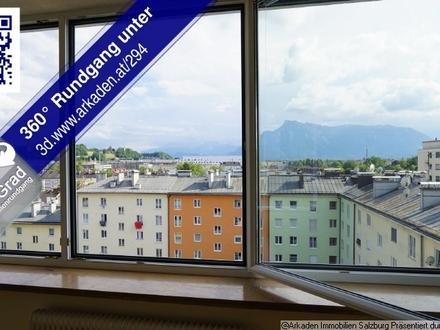 Panoramablick über Salzburg