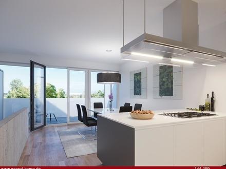 3 1/2 Zimmer-Maisonette-Wohnung mit Dachterrasse und Balkon