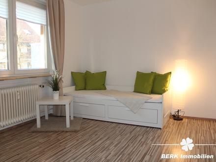 BERK Immobilien - Möblierte 2-Zimmer-Wohnung für Wochenendheimfahrer in Goldbach!