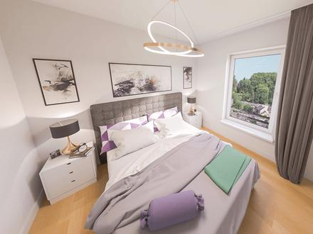 Future Living! Moderne 2-Zimmer-Wohnung mit Balkon, Tiefgarage, Fußbodenheizung - Neubau!
