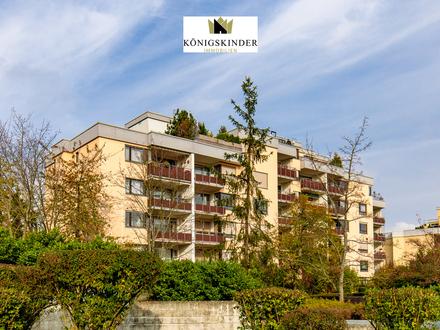 Moderne 2,5 Zimmerwohnung mit Balkon und Weitblick