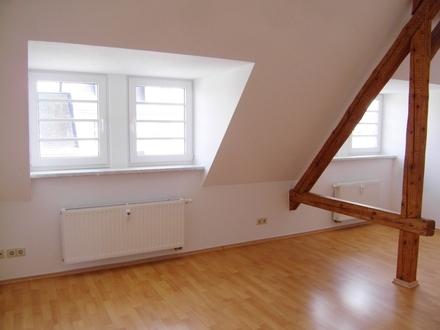 Dachgeschoßwohnung, klein - aber einmalig!