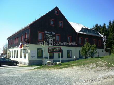 Kapitalanleger oder Selbstnutzer! Berggasthof - Traditionslokal mit Hotelbetrieb in Oberwiesenthal