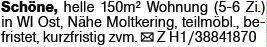 4-Zimmer Mietwohnung in Wiesbaden (65189)