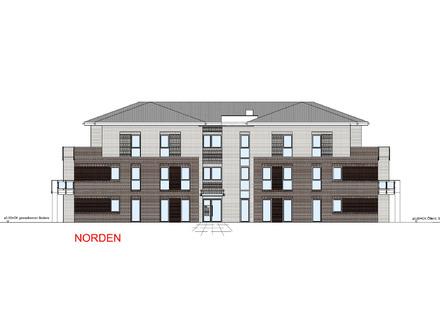 Neubau/Erstbezug: 3-Zimmer Obergeschosswohnung mit Balkon