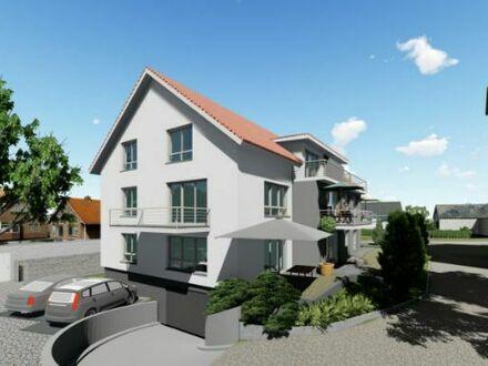 Kirchberg / Jagst, attraktive EG 2,5 Zimmerwohnung in MFH mit 8 WE