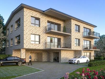 Wohnen am Südhang....Hochwertige Neubau-Wohnung im 2. Obergeschoss mit Balkon