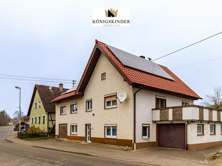 1-2 Fam.-Haus mit Potential auf großem Grundstück