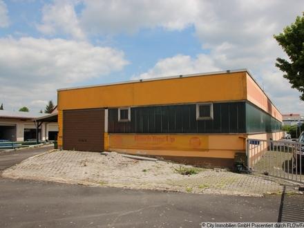 Gewerbehalle mit angrenzendem Wohnhaus in Tirschenreuth!