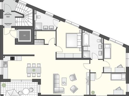 Ideal für die Familie! 4 Zimmer und viel Platz.