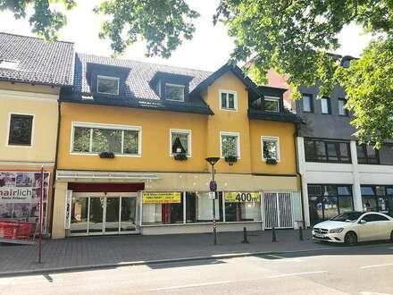 Klagenfurt - St. Ruprecht - Kinoplatz 5: 400 m² Geschäftsfläche / günstiger Mietzins