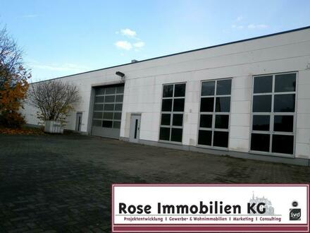 ROSE IMMOBILIEN KG: 8.500m² Lager- Produktionflächen mit Lacklager! Ideal für die Holzindustrie!