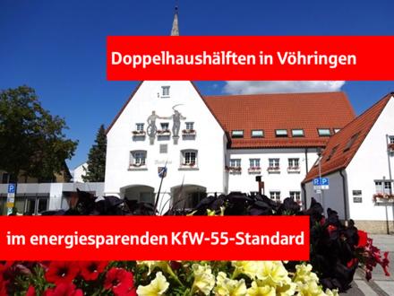 Neubau: Doppelhaushälften in Vöhringen!