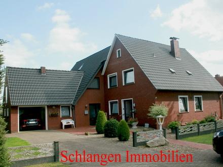 Objekt Nr.: 17/623 Zweifamilienhaus mit Garage im Seemannsort Barßel / OT Elisabethfehn