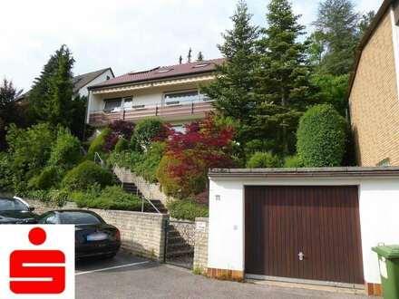 Einfamilienhaus mit Einliegerwohnung mit wunderbarer Aussicht über Künzelsau