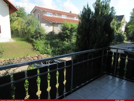 Gepflegte Wohnung mit Balkon und Fernblick!
