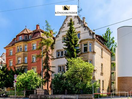 Denkmalgeschütztes ehemaliges Pfarrhaus und Kulturdenkmal im Stuttgarter Süden