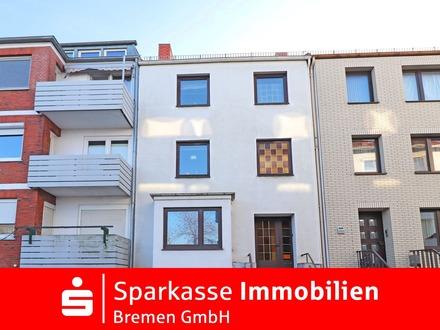 Teilsanierungsbedürftiges Ein-/Zweifamilienhaus als Anlageobjekt oder zur Selbstnutzung in Hohentor