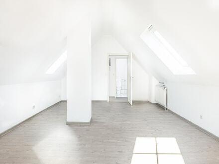 Lichtdurchflutete Dachgeschosswohnung in zentraler Lage von Haselünne