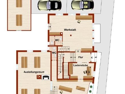 """Zentrale Lage, 8 meter Schaufensterfront geeignet für """"Friseur-Einzelhandel-Büro"""""""