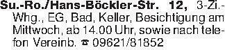 Su.-Ro./Hans-Böckler-Str. 12,...