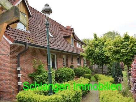 Objekt Nr. 19/819 Wohnhaus mit großem Fischteich sowie zwei Einliegerwohnungen in Saterland / OT Strücklingen