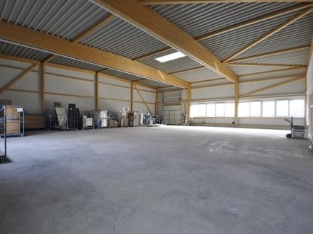 Erstbezug Neubauhalle für Holzverarbeitung in Münster-Nienberge