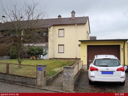 Ideal für eine Familie - sonnige Doppelhaushälfte mit Terrasse, großem Garten und Garage