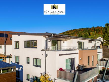 Neubau - Penthouse Wohnung in Glatten mit tollem Ausblick