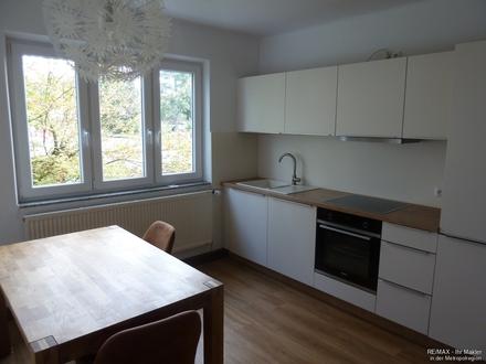 Schöne Zwei-Zimmer-Wohnung mit Einbauküche zu vermieten