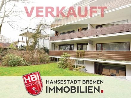 Schwachhausen / Gut geschnittene Eigentumswohnung mit Garage