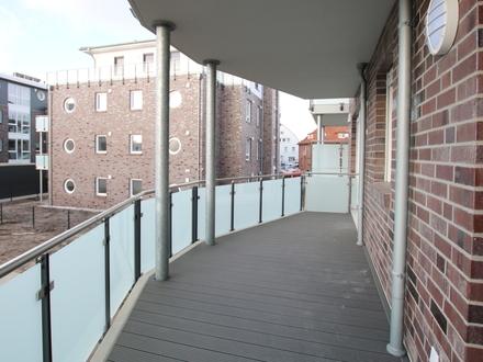 2-ZKB Neubau-ETW mit großem Balkon und eigenem Keller zentral in Westerstede -Garage optional mgl.-
