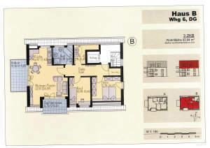 Hochwertiger Neubau! Absolute Zentrumsnähe in Schwabmünchen!! 3 ZKB-Dachterrassenwohnung
