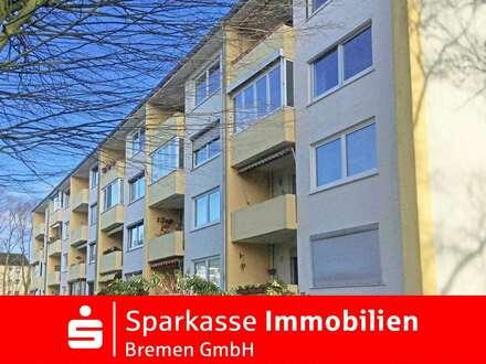 Kapitalanlage: Praktisch geschnitte 2-3-Zimmer-Wohnung im Hochparterre