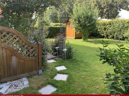 3 Zimmer-Wohnung mit Terrasse, Garten und Tiefgaragenstellplatz!