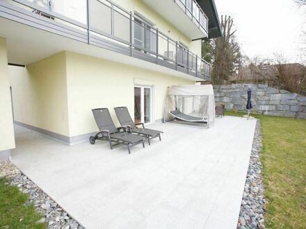 Velden - Kranzlhofen: 49 m² Wohnung mit 50 m² Südterasse