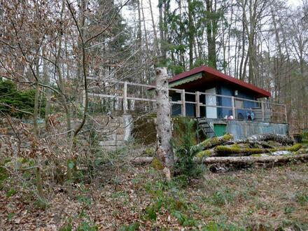 Freizeitgrundstück mit Hütte Nähe Bad Schwalbach