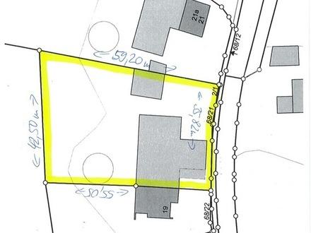 Wald bei Marktoberdorf: Größeres Grundstück zur Wohnbebauung in Dorflage!!!