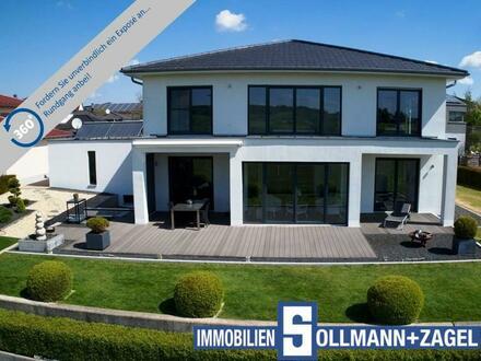 Extravagantes Design - Villa – Bestlage - Panoramablick - über 400 m² Wohn- und Nutzfläche!