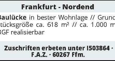 Frankfurt - Nordend