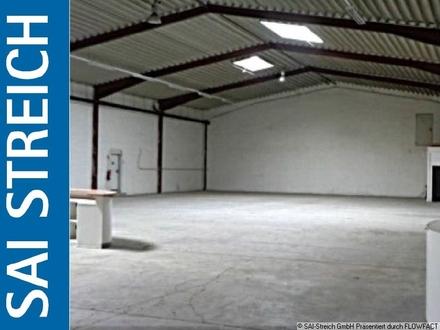 Ebenerdige Lager-/Produktionshalle mit 8m Deckenhöhe!