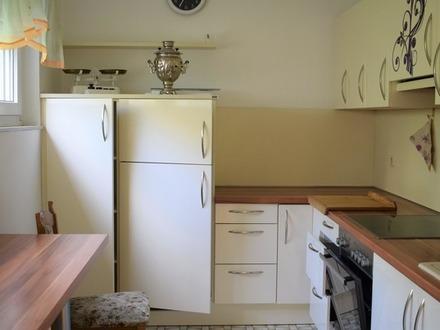 Zentrale 3 Zimmer-Wohnung im Grünen