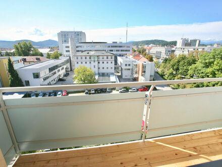 Klagenfurt - Viktringer Ring: Perfekt sanierte 3-Zimmerwohnung im 6.OG