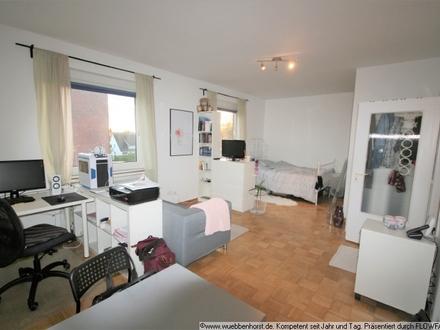 Helle 1-Zimmer-Wohnung mit Einbauküche in Nadorst